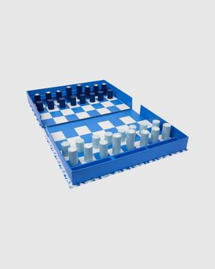 Sunnylife Board Game Chess & Checkers - Accessories (Multi)