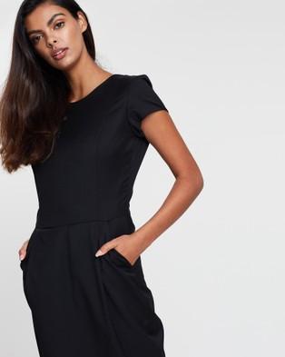 Farage - Core Bianca Dress - Dresses (Black) Core Bianca Dress