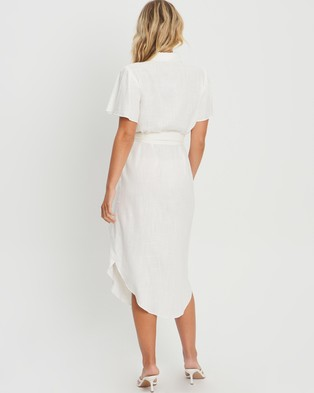 Tussah Alinta Midi Dress - Dresses (White)
