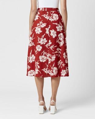 MVN Florentine Skirt - Skirts (Red)