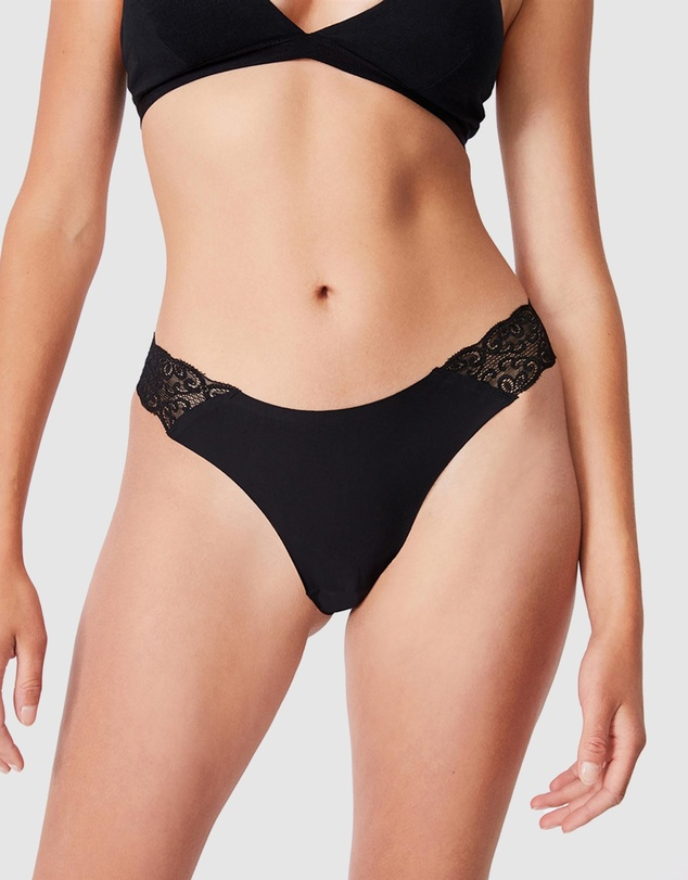 Women Party Pants Seamless Brasiliano Briefs 3-Pack