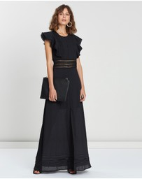 ICONIC EXCLUSIVE - Ruffle Maxi Dress