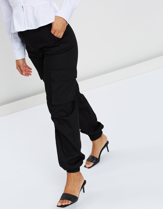 Missguided Petite - Plain Cargo Trousers