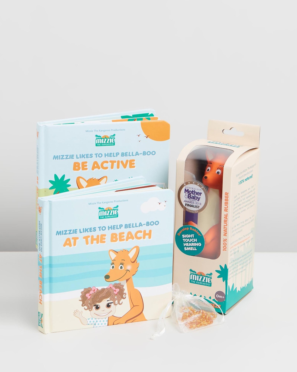 Mizzie The Kangaroo Deluxe Baby Shower Gift Set All toys Baby Set