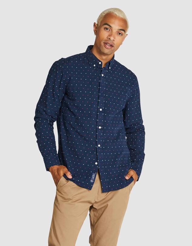 Superdry - Long Sleeve Classic Dobby Shirt