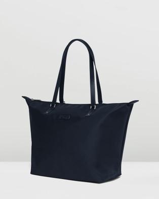 Lipault Paris Lady Plume Tote Bag Medium - Bags (Navy)