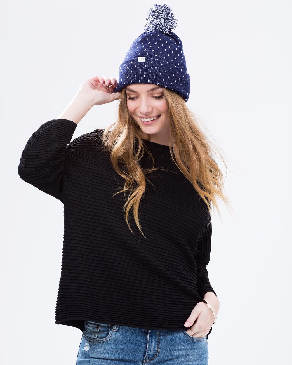 57b56f6ea03 The Dottie Beanie by Coal Online