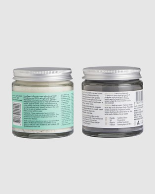 Love Beauty Foods Mint Toothpowder & Teeth Whitener Pack - Beauty (White)