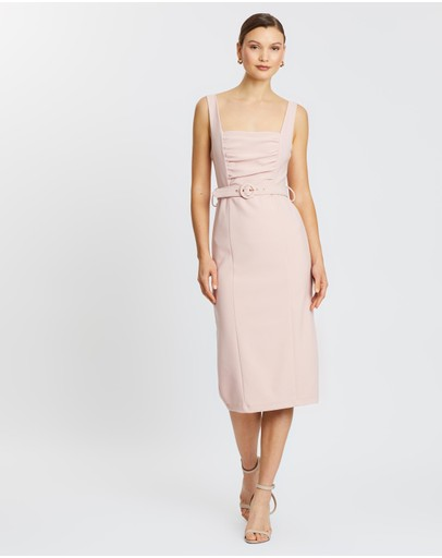 Pasduchas - Aurelia Belt Midi Dress