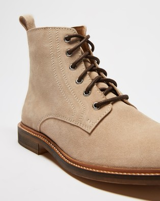 Double Oak Mills - Harry Suede Boots (Natural)