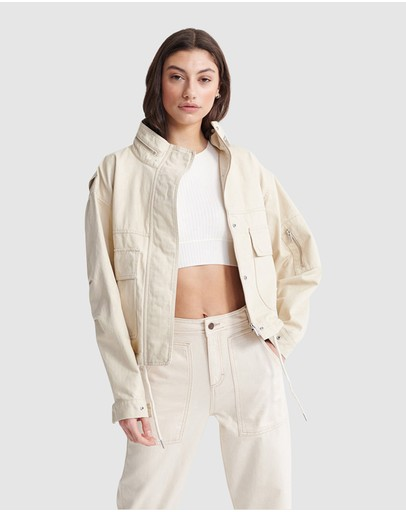 Superdry - Bora Cropped Jacket