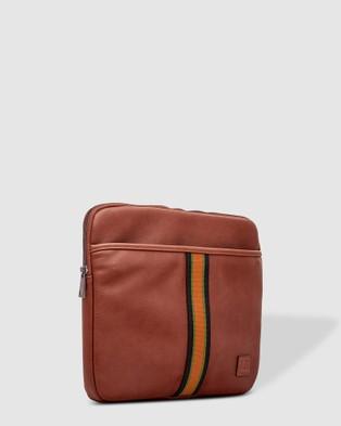 Louenhide Owen Laptop Compendium - Bags (Tan)