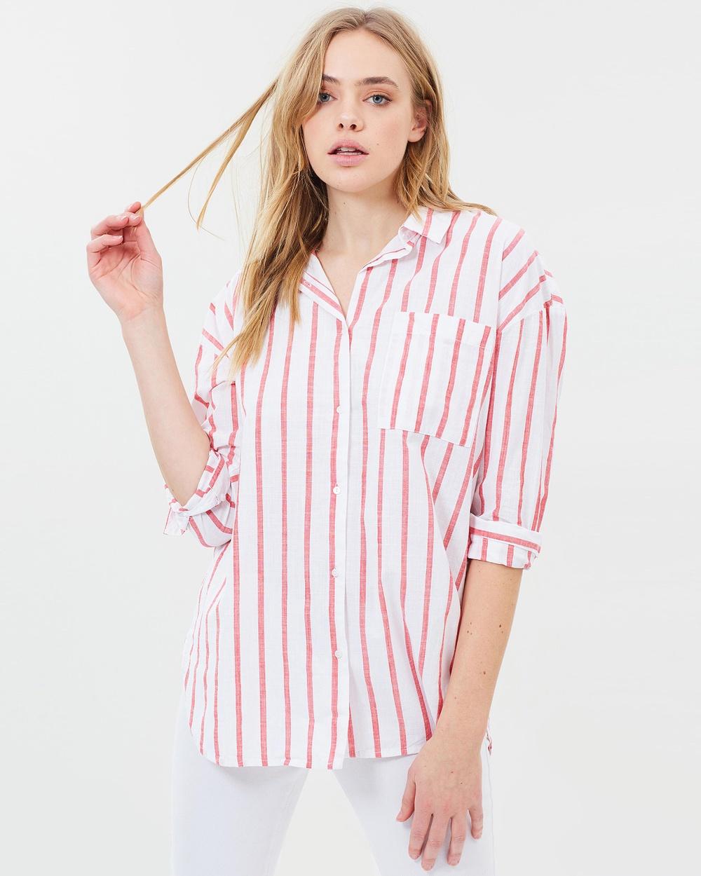 Cotton On Monique Shirt Tops Jack White Stripe Monique Shirt