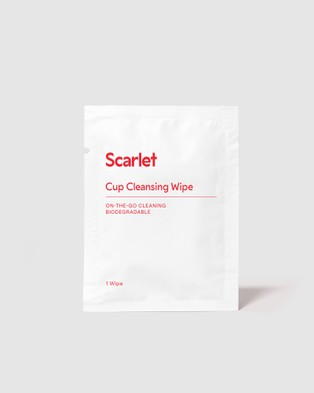 Scarlet Period Cup Cleansing Wipes - Beauty (N/A)