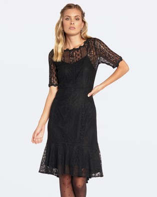 Alannah Hill – Only The High Life Dress – Dresses (Black)