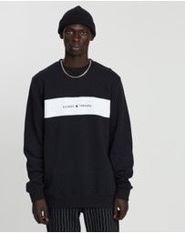 Afends - Threads Panel Crew Neck Sweat