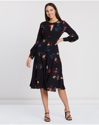 Cooper St - Gogo Long Sleeve Midi Dress