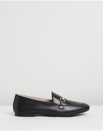 Atmos&Here - Edee Leather Loafers