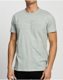 Hollister - Embossing T-Shirt