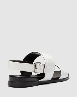 Therapy Sparrow - Sandals (White Croc)