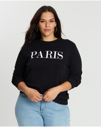 DP Curve - Paris Motif Sweatshirt