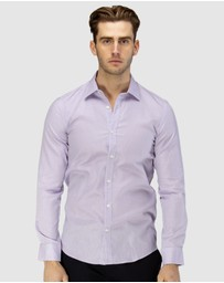 Brooksfield - Career Leno Weave Business Shirt