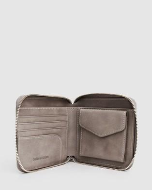 Belle & Bloom Nora Wallet Gift Pack - Wallets (Grey)