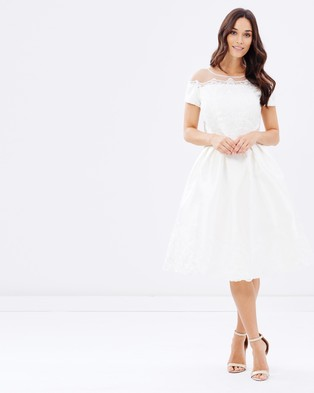 Buy Chi Chi London - Seraphina Dress - Dresses (White) -  shop Chi Chi London dresses online