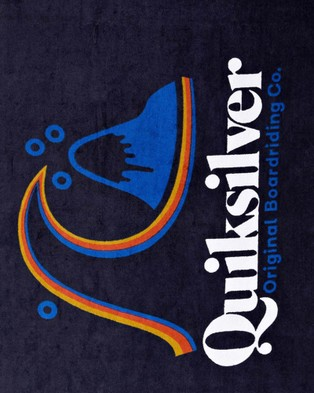 Quiksilver Bombora Beach Towel - Swimming / Towels (PARISIAN NIGHT)