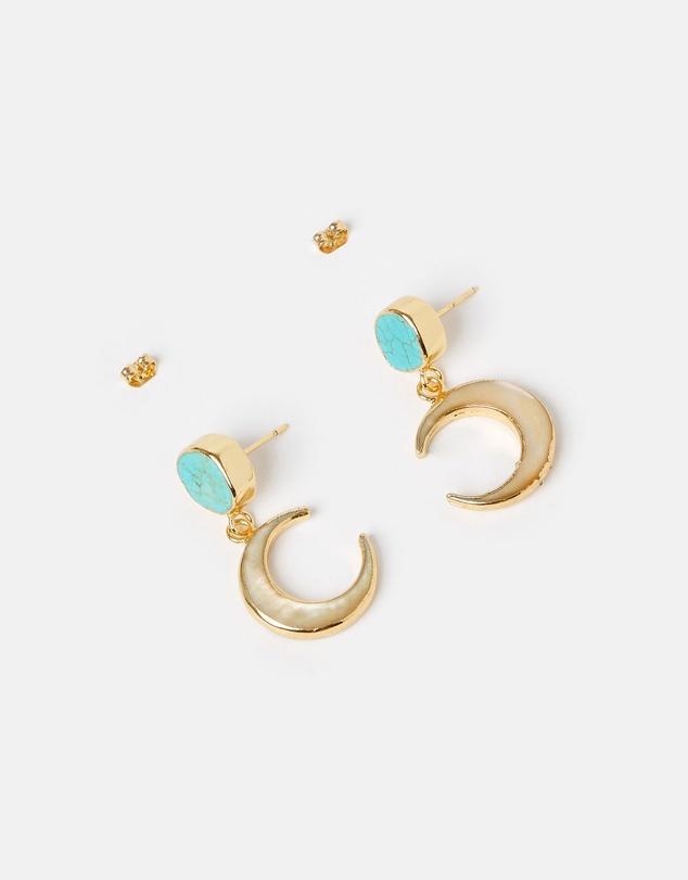 Women Moon Dance Earrings