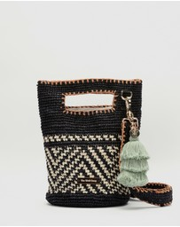 The Wolf Gang - Uzuri Raffia Cross-Body Bag