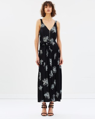 Lover – Buttercup Maxi Black Ground