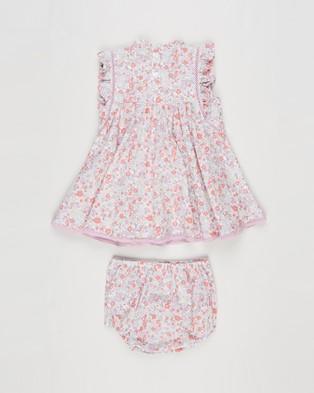 Cotton On Baby Bundle Tess Dress & Tia Bloomers   Babies - Bloomers (Vanilla & Garden Floral)