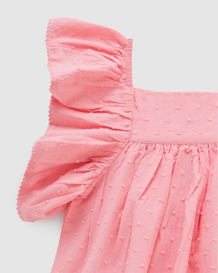 Purebaby Bodysuit Dress   Babies - Bodysuits (Flamingo)