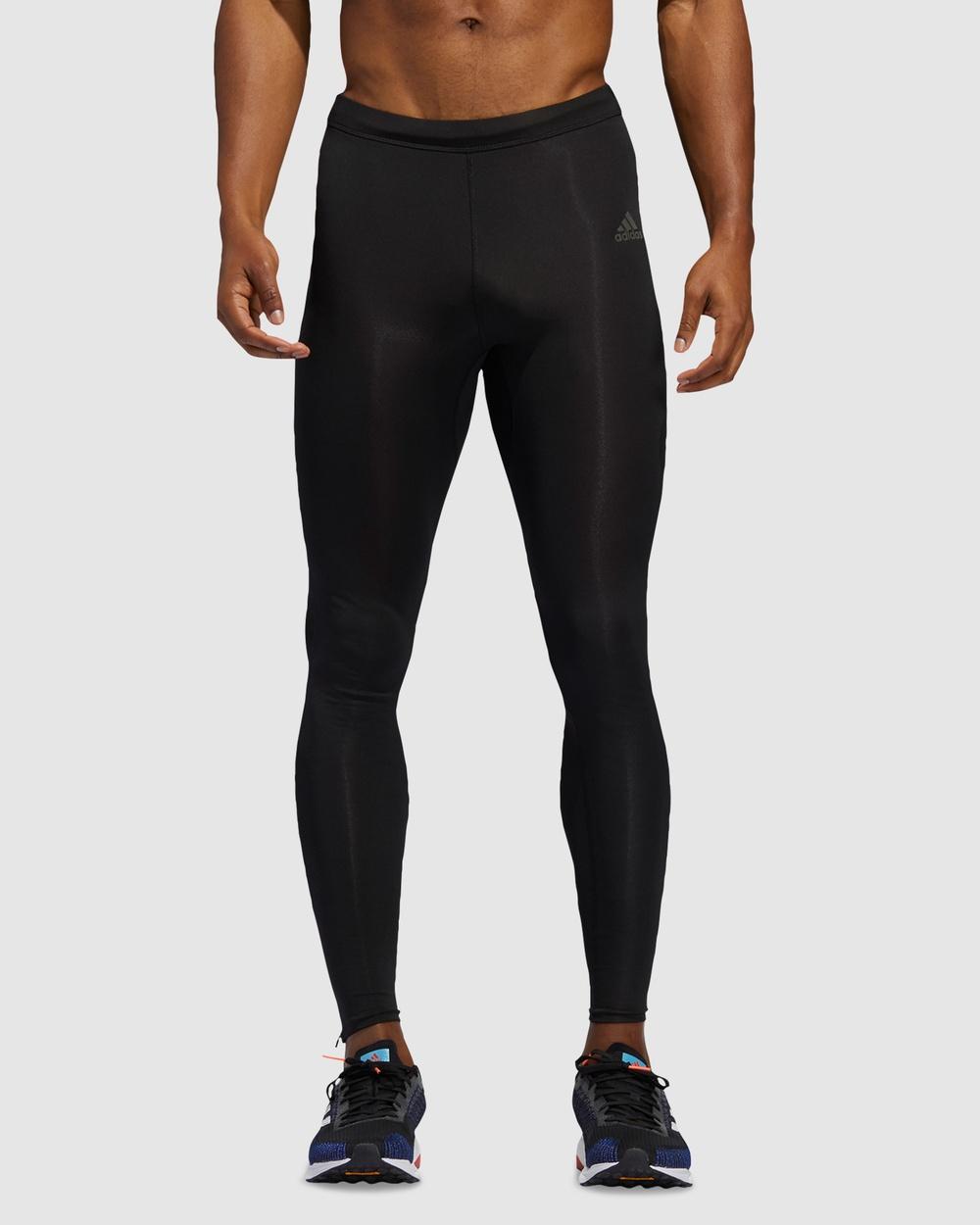 adidas Performance Own the Run Long Tights Sports Black