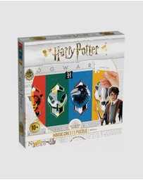 PUZZLE - Harry Potter House Crests Puzzle - 500 piece