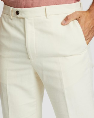 Gieves and Hawkes Casual Pants - Pants (White)