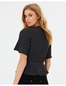 Miss Selfridge - Spot Wrap Blouse