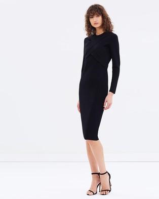 CAMILLA AND MARC – Vera Dress – Bodycon Dresses (Black)