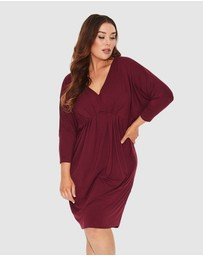 17 Sundays - 3/4 Sleeve Freefall Dress