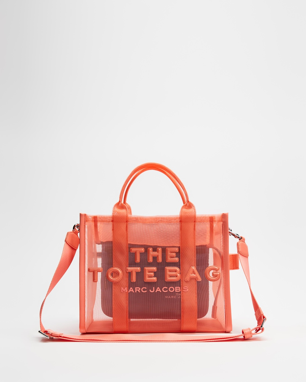 The Marc Jacobs THE SMALL TOTE Bags Fusion Coral