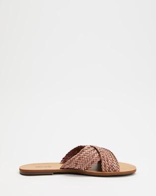 Anacapri - Tresse Flats Sandals (Rosa Antik)