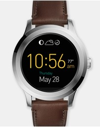 Fossil - Smartwatch Q Founder Dark Brown