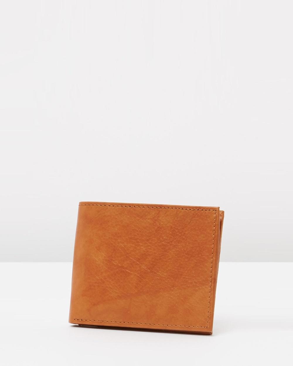 Loop Leather Co Bob Wallets Cognac