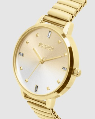 Missguided Missguided Gold Expander - Watches (Gold)
