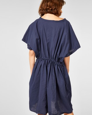 Primness Beach Cover Up - Dresses (Navy)