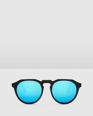 Hawkers Co Diamond Black  Clear Blue WARWICK X - Sunglasses (Black)