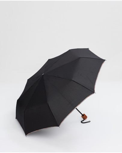 Paul Smith - Multistripe Trim Telescopic Umbrella