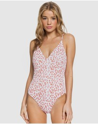 Roxy - Womens ROXY Leo One Piece Swimsuit