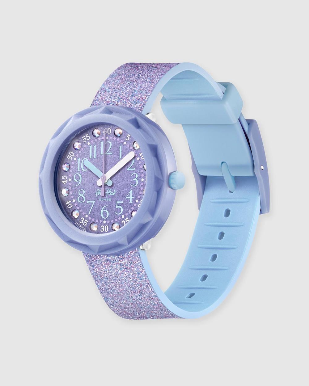 Flik Flak LILAXUS Watches Purple